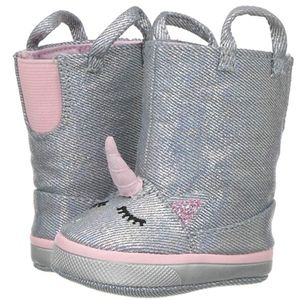Baby Deer Soft Sole Unicorn Boot 9-12 Mo